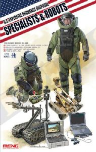 MNGHS003 US Explosive Ordnance Disposal Specialists & Robots